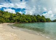 Der schönste Strand im Manuel Antonio