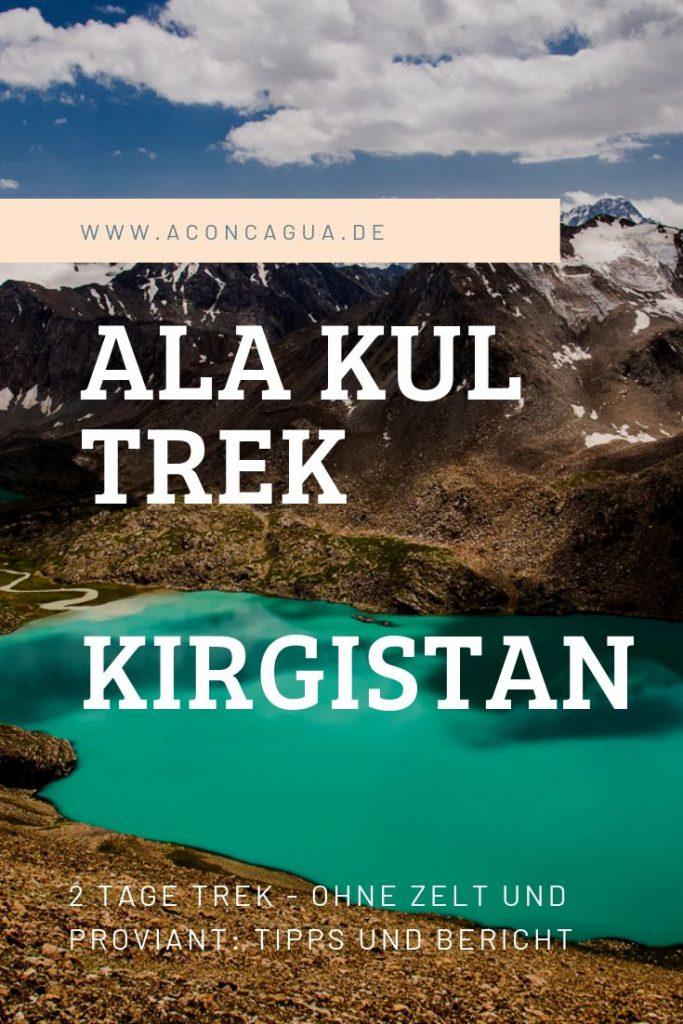 ALA KUL TREK Kirgistan Pinterest Title