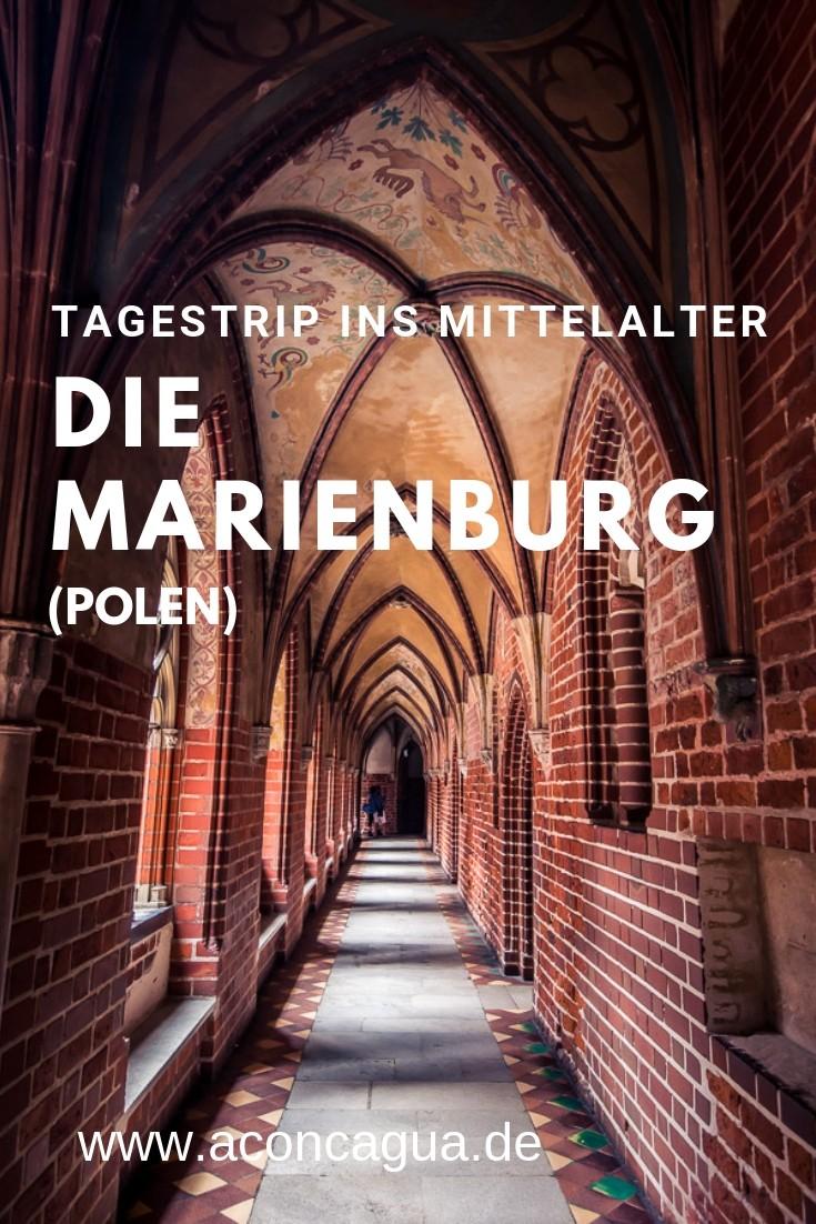 Die Marienburg in Malbork, Polen.