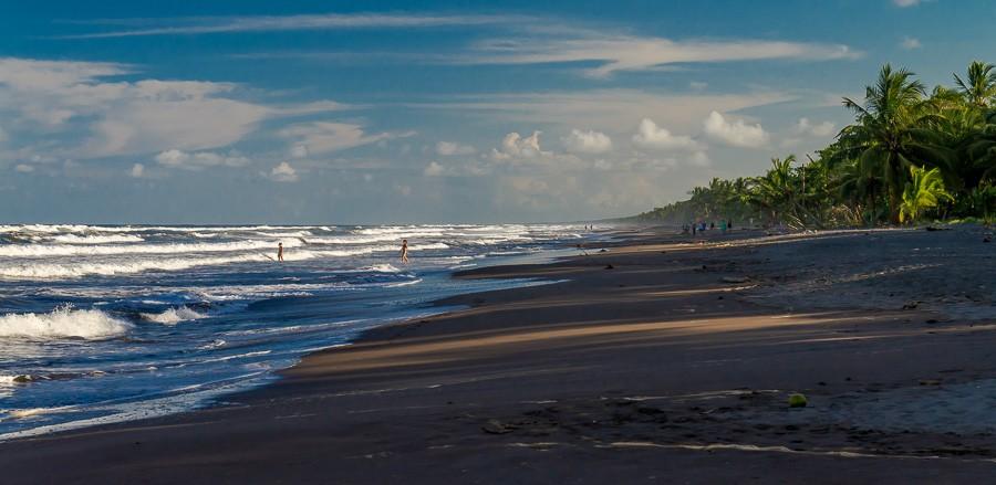 Strand bei Tortuguero